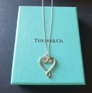 Tiffany & Co. Venezia Goldoni Heart Necklace